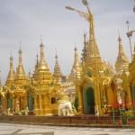 Pagoda in Yangon - Vietnam and Myanmar tour 7 days