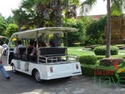 Electric car in Cambodia