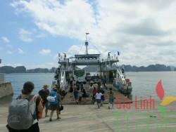 Boat Tuan Chau - Cat Ba