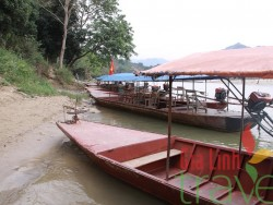 Boat on Chay River