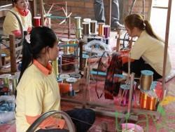 Cambodia silk farm
