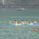 Kayaking in Ha Long Bay, Vietnam- Vietnam and Cambodia tour 12 days