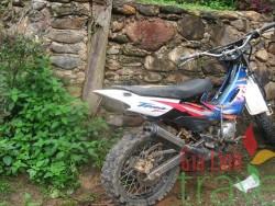 Motor biking